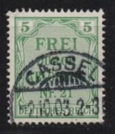 Deutsches Reich Dienstmarken MiNr. 3 O / Gestempelt CASSEL /  KASSEL - Service