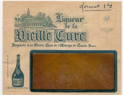 Enveloppe 33 Cenon Liqueur Vieille Cure - Francia