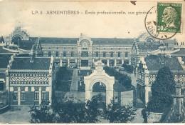 Armentieres-ecole Professionnelle - Vue Générale-cpa - Armentieres