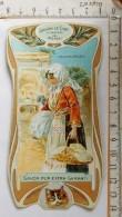 Chromo Calendrier 1905 /  SAVON LE CHAT à Travers Le Monde / Montenegro / Balkans / Femme Lingère / Style Art Nouveau - Trade Cards