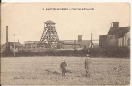 572. CPA 71 MONTCEAU LES MINES. PUITS SAINTE MARGERITE - Montceau Les Mines
