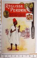 Chromo  Reglisse Perdrix Fournisseur Cour D´espagne /imp.  Mouillot Marseille / Africain Homme Noir Negre - Autres