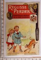 Chromo  Reglisse Perdrix Fournisseur Cour D´espagne /imp.  Mouillot Marseille / Enfant Singe Voleur - Autres