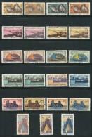 Nouvelle Calédonie Lot De Divers Timbres De 1948 Neufs Avec Charnière * Et  Oblitérés - Lots & Serien