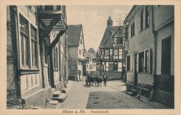 ALLEMAGNE - RHENS A. Rh. - Hochstrasse - Allemagne