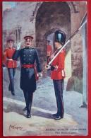 5440 CPA - Militaria Of England - Gale & Polden Ltd - Royal Dublin Fusiliers. Russian Plague Greeting - Reggimenti