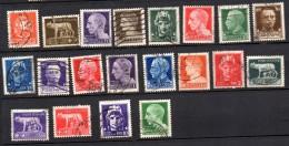 1929 - Regno Serie Imperiale  N. 242A -259  Timbrati Used - Belli - 1900-44 Victor Emmanuel III