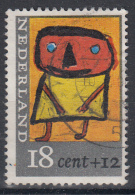 Nederland - Plaatfout 854 PM5 Blok - Losse Zegel – Gebruikt/gebraucht/used - Mast 7e Editie 2013 - Plaatfouten En Curiosa