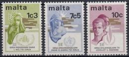 Malta 1973 Nº 477/79 Nuevo - Malta