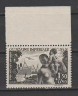 FRANCE / 1942 / Y&T N° 543 ** : Quinzaine Impériale - Gomme D´origine Intacte - France