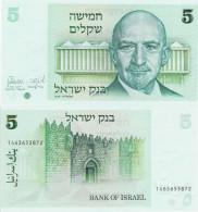 Israel 1978 - 5 Sheqalim - Pick 44 UNC - Israel