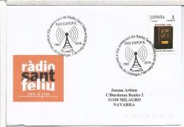SANT FELIU DE LLOBREGAT CC CPN MAT 35 AÑOS RADIO TUSELLO RADIO CASTILLA 1935 - Telecom