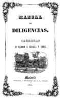 "EBook: ""Manual De Diligencias Madrid-Sevilla-Cádiz"" - Literatura"
