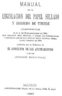 """EBook: """"Manual Del Papel Sellado Y Derecho De Timbre"""" - Literatura"""