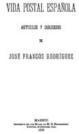 "EBook: ""Vida Postal Española"" - Literatura"