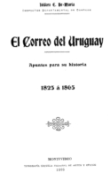 """EBook: """"El Correo Del Uruguay"""". 1905 - Letteratura"""