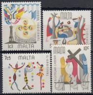 Malta 1976 Nº 520/23 Nuevo - Malte