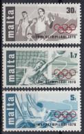Malta 1976 Nº 524/26 Nuevo - Malte