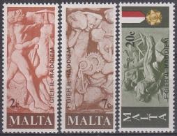 Malta 1977 Nº 551/53 Nuevo - Malta