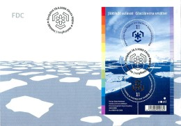 Finland 2009 BL.55 INTERNATIONAL POLAR YEAR - Preservar Las Regiones Polares Y Glaciares