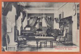 Carte Postale 31. Luchon Grand Hotel Continental  Le Salon  Trés Beau Plan - Luchon