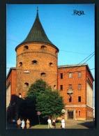 LATVIA  -  Riga  The Powder Tower  Unused Postcard - Latvia