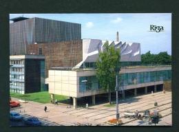 LATVIA  -  Riga  Rainis Academic Art Theatre  Unused Postcard - Latvia