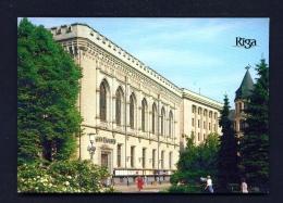 LATVIA  -  Riga  Philharmonic Concert Hall  Unused Postcard - Latvia