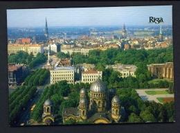 LATVIA  -  Riga  Panorama  Unused Postcard - Latvia