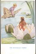 ARTIST SIGNED: MARGARET W. TARRANT ~ THE WATER-LILY FAIRIES ~ FAIRY OF THE COUNTRYSIDE  SERIES ~ Pu1933 - Künstlerkarten