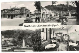 CPSM LANDSTUHL - Bahnhofsgaststätte - Inh. : Josef Lang - Landstuhl