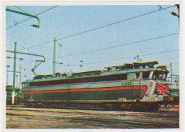 Image Poulain - Connaissance Du Chemin De Fer, Locomotive CC 40100 N° 18 - Poulain