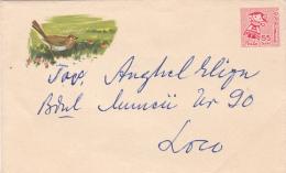 LILLIPUT COVER STATIONARY,ENTIER POSTAL,BIRD,1962,ROMANIA. - Postal Stationery