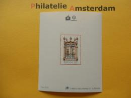 Portugal 1988, LUBRAPEX 88 / UNESCO WORLD HERITAGE PATRIMOINE MONDIALE WERELDERFGOED: Mi 1756, Bl. 58, ** - Blokken & Velletjes
