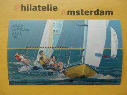 Portugal 1988, OLYMPICS SEOUL: Mi 1766, Bl. 60, ** - Summer 1988: Seoul