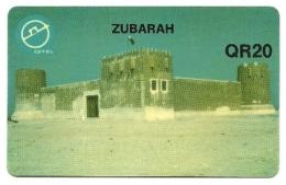 Qatar - Tessera Telefonica Da 20 Riyals T38 -QTEL - Qatar