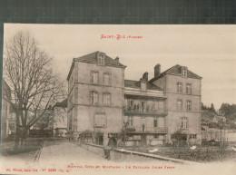 88 VOSGES ST-DIE, Hôpital Civil Et Militaire, Pavillon Jules Ferry, Animée, 1919,  (Ad. Weick) - Saint Die