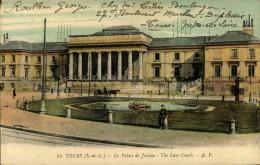 TOURS LE PALAIS DE JUSTICE - Tours
