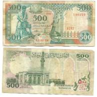 Somalia 500 Shillings 1987 VF - Somalie