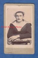 Photo Ancienne CDV Vers 1900 - VAINS /.AVRANCHES ( Manche ) - Portrait D'un Marin - Photographie Cosquer Lemarie - Fotos