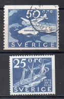 SUEDE   Timbre  De 1936  ( Ref 2974 )  Avion