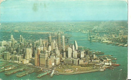 New York City (USA, Stati Uniti) Aerial View Of Lower Manhattan, Veduta Aerea Di Manhattan - Manhattan