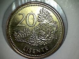 Lesotho 20 Lisente 1998 TTB - UNC - Lesotho