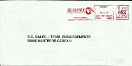 Lettre Entiere  EMA Bk France Animaux Oiseaux Perroquet Toucan      B/594 - Oiseaux