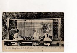 Alger Manufacture De Tapis D'Orient Femmes Arabes Travaillant Aux Tapis - Professions