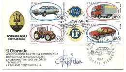 1984 - Italia - Autografo Di Gigi Villoresi 2/37 - Autografi