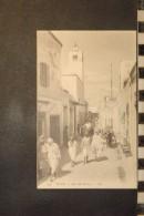 CP, Tunisie, TUNIS Rue Sidi Mahrez   N°124 Edition LL - Tunisie