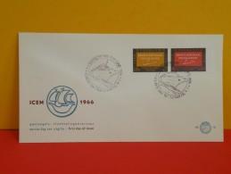 Néderland FDC, Brengt Hem Naar Veilige Haven 31 Januari 1966 Pays-Bas FDC, Amenez-le Refuge 31 Janvier, 1966 - FDC