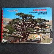 Lebanon - A 60 Color Slides Guide Book On Kodak Film - Zeldzaam - Diapositives