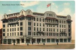 Etats Unis. Park Hotel, Great Falls - Great Falls